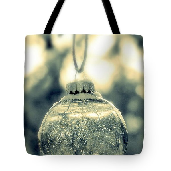 Tote Bag featuring the photograph Xmas Ball by France Laliberte