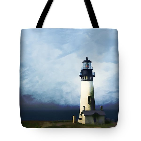 Yaquina Head Light Tote Bag