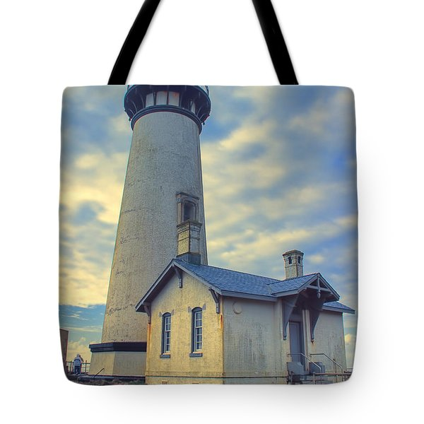Yaquina Head Lighthouse Tote Bag