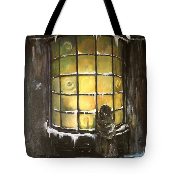 Tote Bag featuring the painting Ye Old Shoppe  by Jean Walker