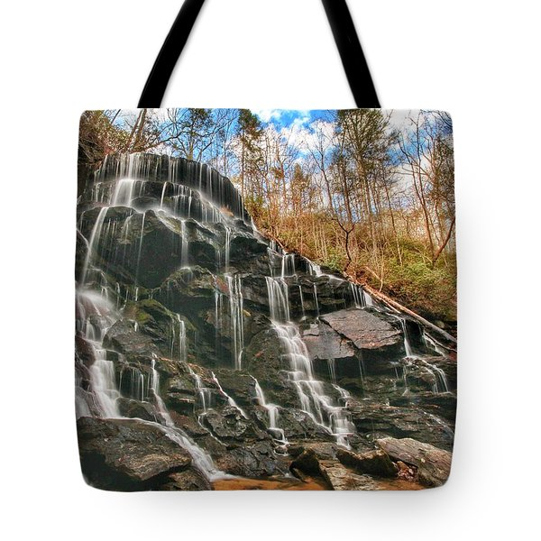 Yellow Branch Falls Tote Bag