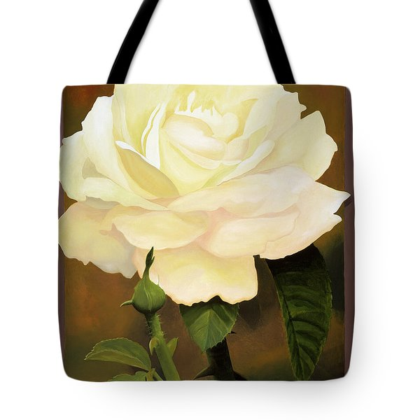 Yellow Rose Tote Bag by Blue Sky
