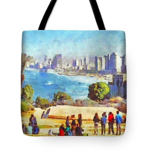 Youth Groups In Tel Aviv Tote Bag
