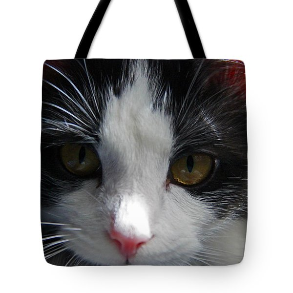 Tote Bag featuring the photograph Yue Up Close by Andy Lawless