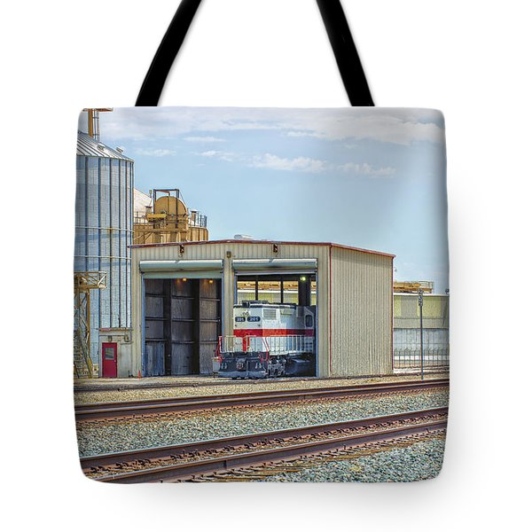 Foster Farms Locomotives Tote Bag
