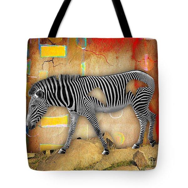 Zebra Collection Tote Bag