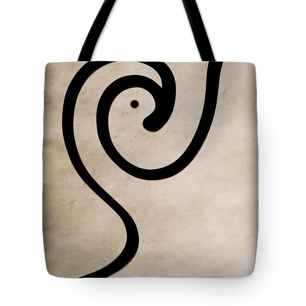 Zen Bird Tote Bag