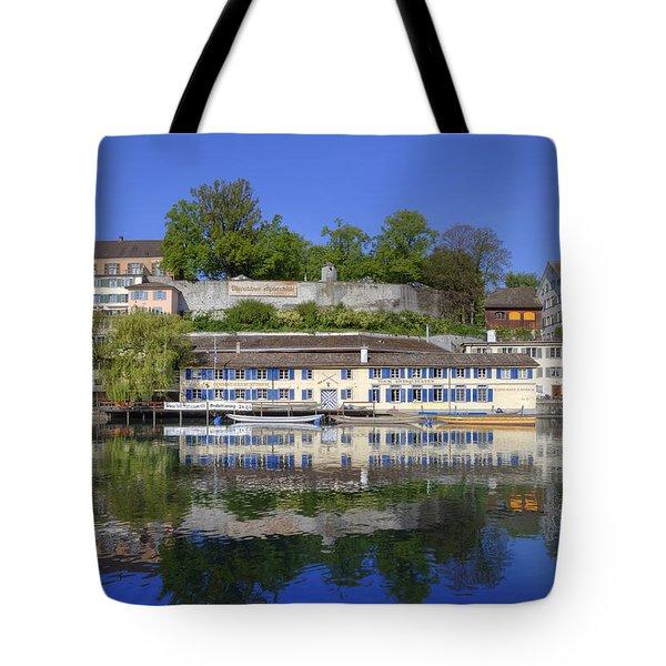 Zurich Tote Bag by Joana Kruse