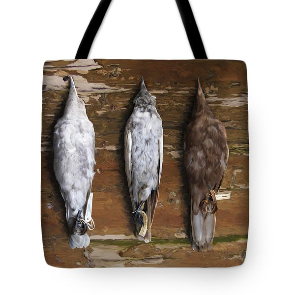 10. 3 Crows Tote Bag