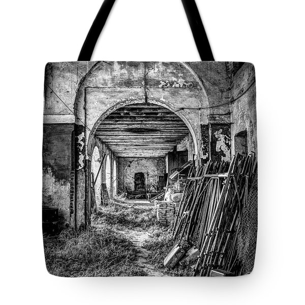 Abandoned Villa Tote Bag