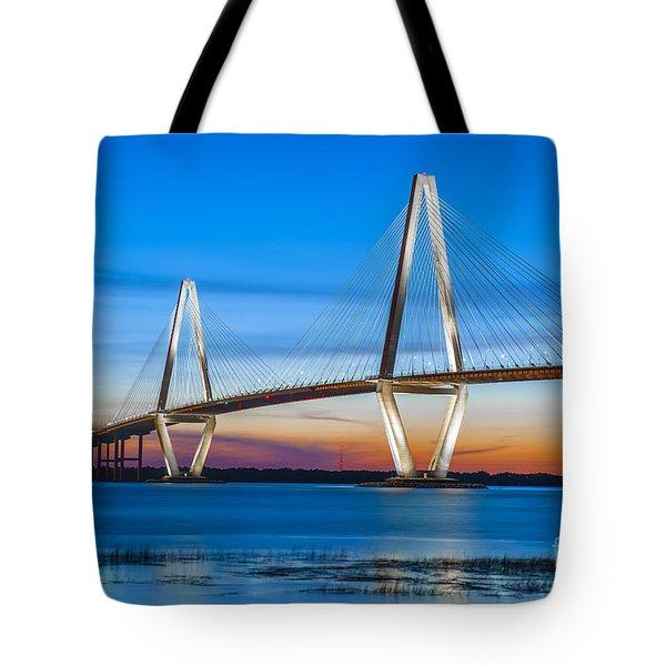 Charleston Arthur Ravenel Bridge Tote Bag