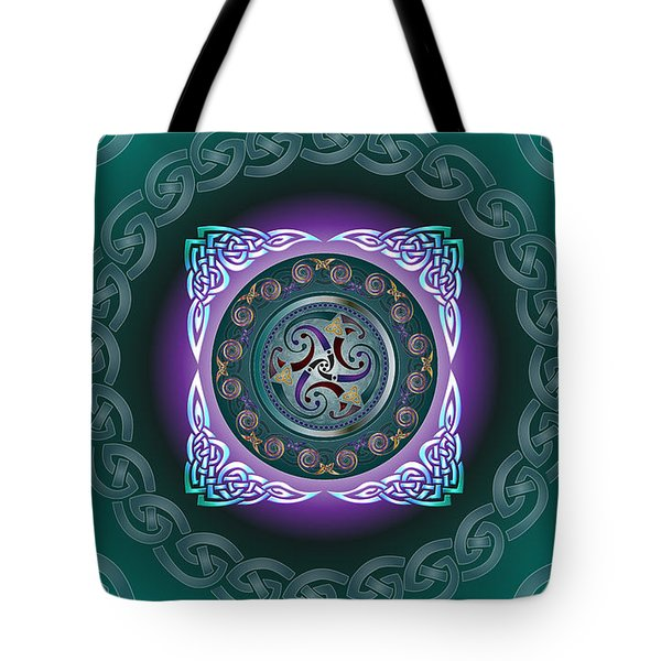 Celtic Pattern Tote Bag