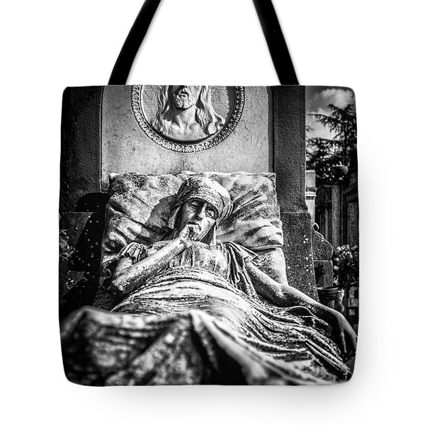 Cemetery Of Mantova Tote Bag