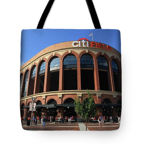 Citi Field - New York Mets 3 Tote Bag