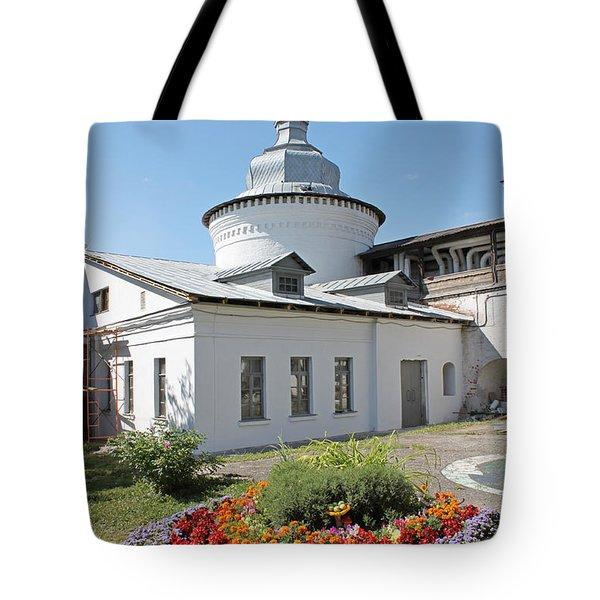Flowerbed Tote Bag by Evgeny Pisarev