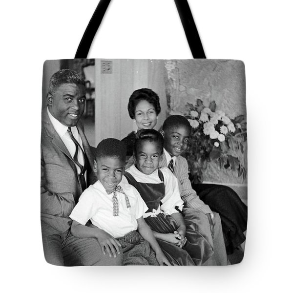 Jackie Robinson (1919-1972) Tote Bag