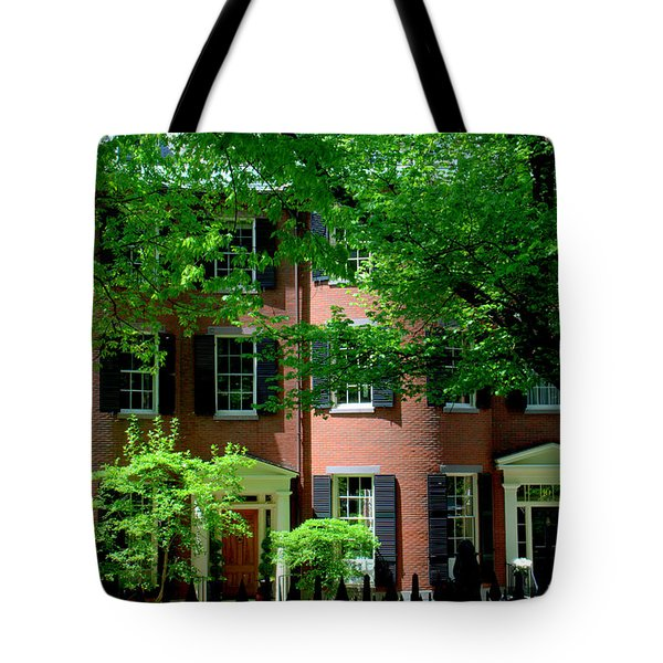 10 Louisburg Sq Beacon Hill Tote Bag
