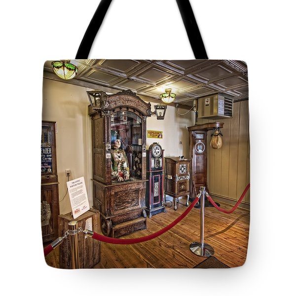 10 Million Dollar Fortune Teller Penny Arcade Game C. 1900 Tote Bag by Daniel Hagerman