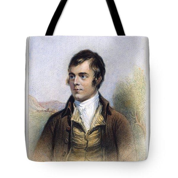 Robert Burns 1759-1796 Tote Bag by Granger