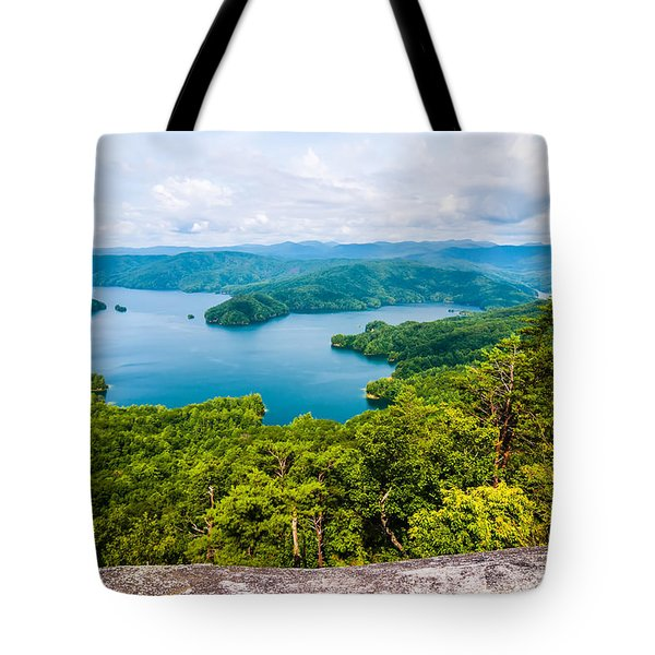 Scenery Around Lake Jocasse Gorge Tote Bag