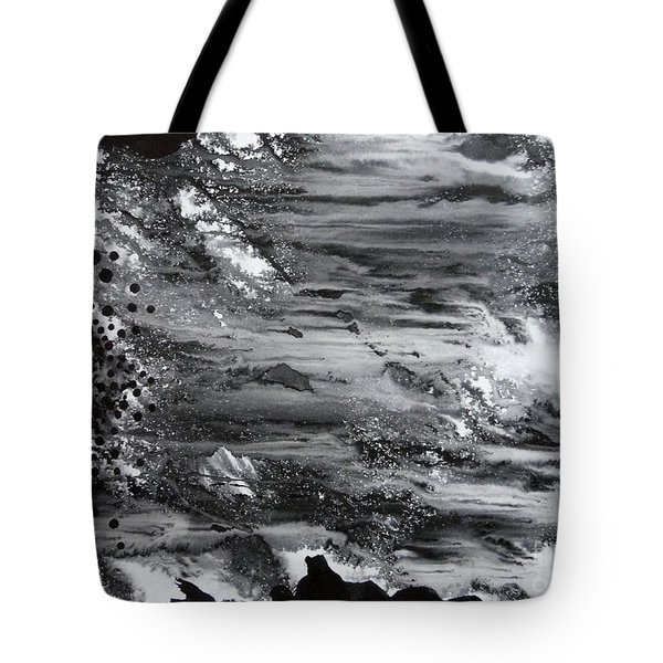 Flowing Water Tote Bag