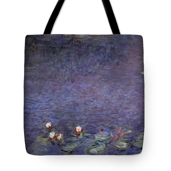 Water Lilies Tote Bag by Claude Monet