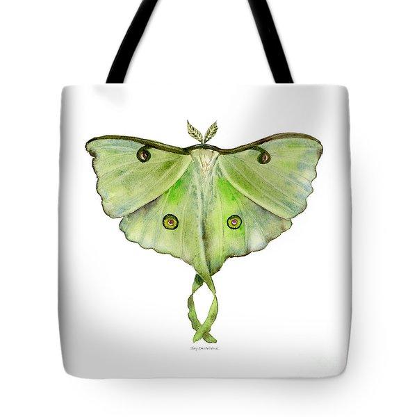 100 Luna Moth Tote Bag
