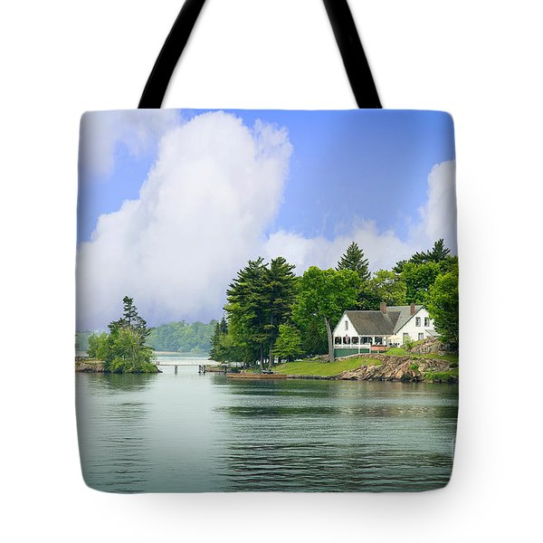 1000 Island Waterway Tote Bag