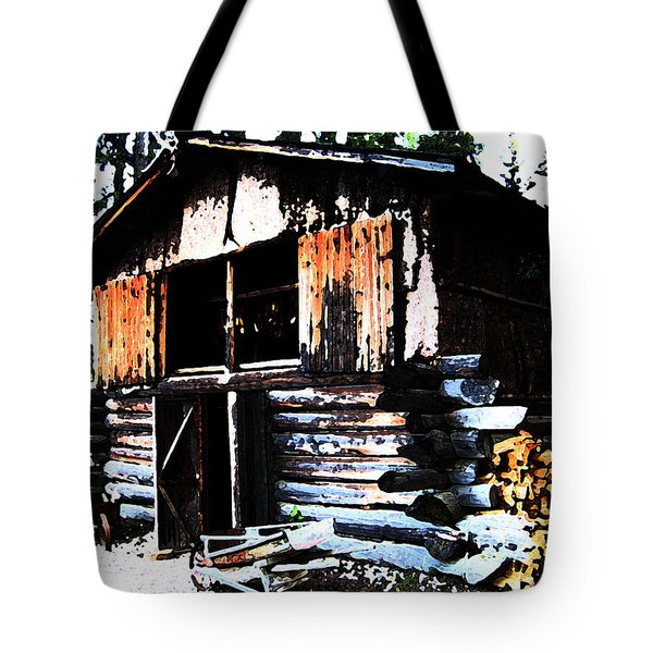 1000076 Salmon Smoke House Tote Bag