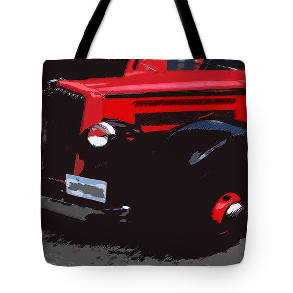 1000406008 Montana Tour Bus Tote Bag