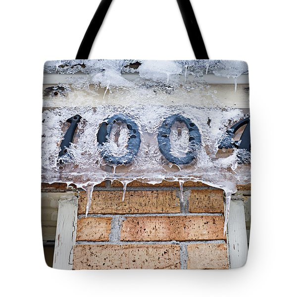 1004 Main Street Small Town Usa - Color Tote Bag by Andee Design
