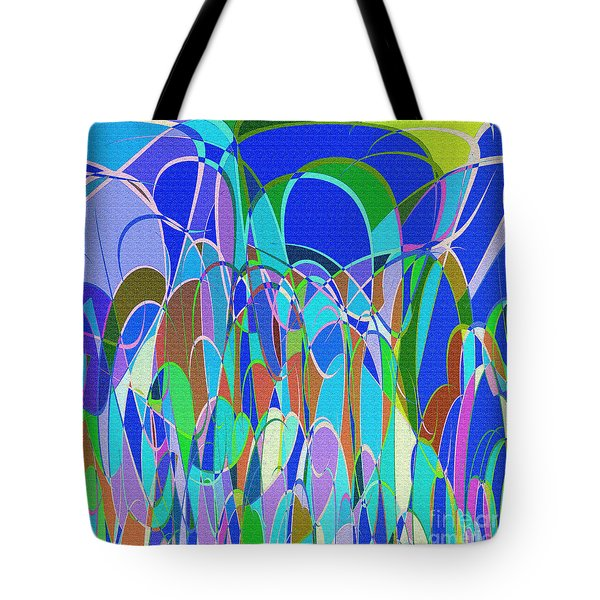 1014 Abstract Thought Tote Bag by Chowdary V Arikatla