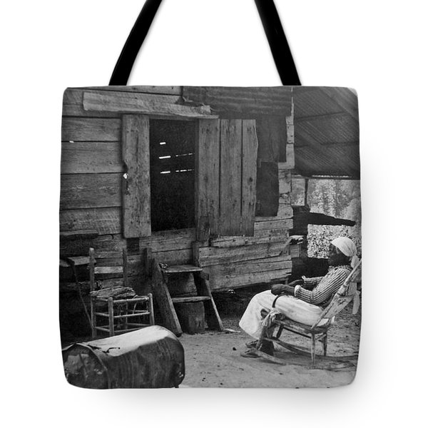 102 Year Old Woman At Her Home Tote Bag