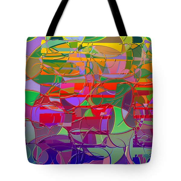 1021 Abstract Thought Tote Bag