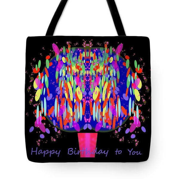 1038 - Happy Birthday  To You Tote Bag