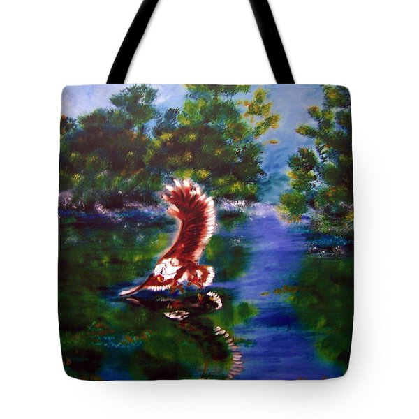 1044426 Digital Eagle Tote Bag