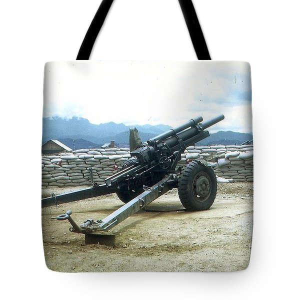 105mm Howitzer Tote Bag