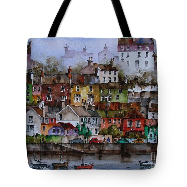 107 Windows Of Kinsale Co Cork Tote Bag