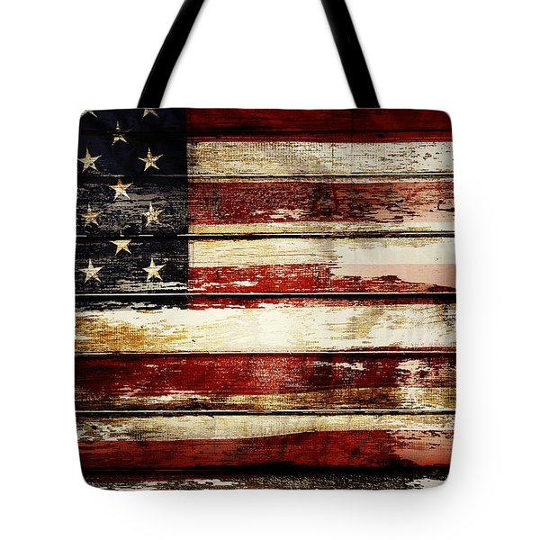 American Flag 33 Tote Bag
