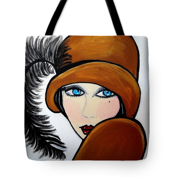 Art Deco  Gail Tote Bag