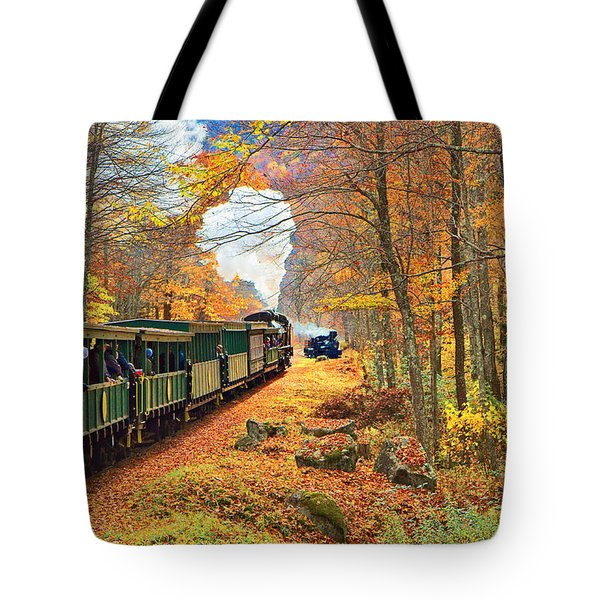 Cass Scenic Railroad Tote Bag