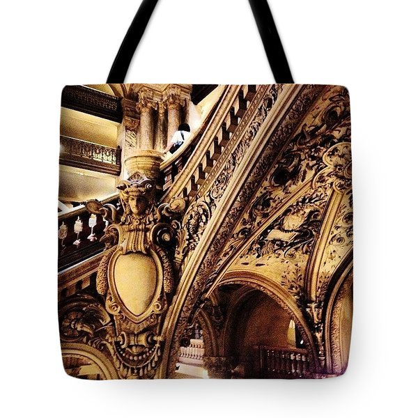 #paris Tote Bag