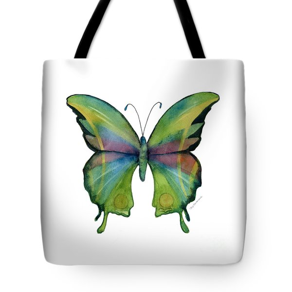 11 Prism Butterfly Tote Bag