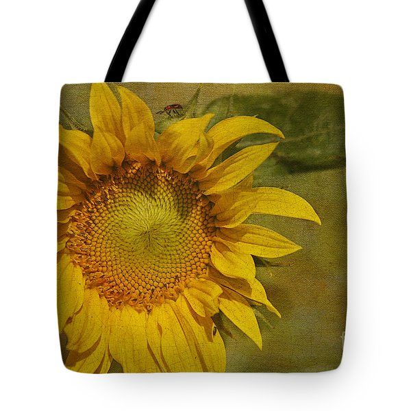 Sunflower Tote Bag by Cindi Ressler