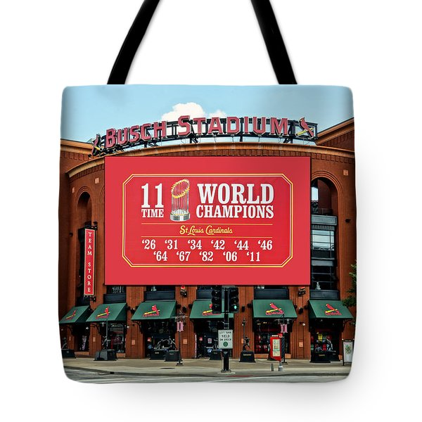 11 Time World Champion St Louis Cardnials Dsc01294 Tote Bag