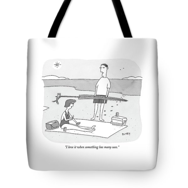 I Love It When Something Has Many Uses Tote Bag