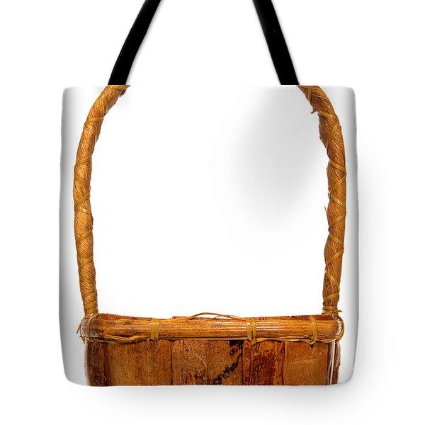 Wicker Basket Number Two Tote Bag