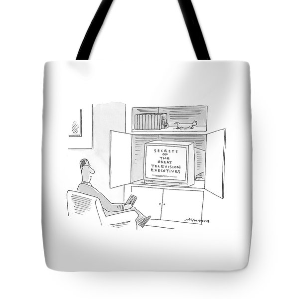 New Yorker January 10th, 2000 Tote Bag