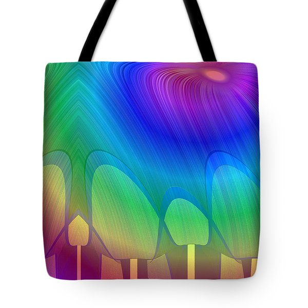 1131 - Anticipation Tote Bag by Irmgard Schoendorf Welch