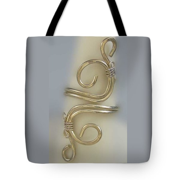 1153 Sterling Adjustable Ring Tote Bag